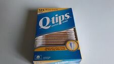 Rare Hard to Find Original Q-tips wood sticks 125 count--10 Boxes