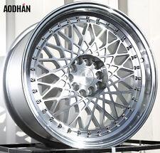 AODHAN AH05 17x9 5x100 / 5x114.3 +25 Machine Face and Lip (PAIR) wheels