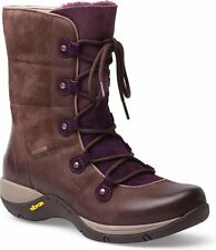 Dansko Womens Camryn Brown Nubuck Waterproof Arch Support Boot EU 40 US 9.5