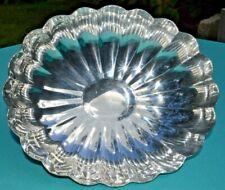 Reed & Barton Silver Plate Scalloped Pedestal Centerpiece Bowl #60
