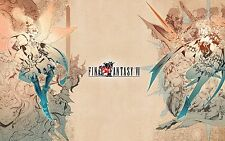 Final Fantasy VI  Classic -  Huge Poster  22 inch  x 34 inch ( Fast Shipping )