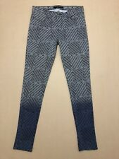 """J BRAND JEANS WOMENS ~ SZ 29 ~ GREAT COND """" ARMATURE PRINT """" SUPER SKINNY STYLE"""
