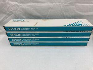 Epson Film Ribbon Cartridge #7770 VP1000FRC Lot of 4 Vintage New Old Stock