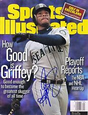 KEN GRIFFEY JR. HOF HAND SIGNED AUTOGRAPHED FULL ISSUE SPORTS ILLUSTRATED!PROOF