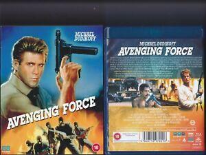 Avenging Force (1986) 88 Films UK Blu Ray Michael Dudikoff Steve James