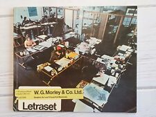 More details for vintage letraset product catalogue 1970? 120 pages retro ephemera