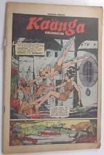 KAANGA COMICS #2 WINTER 1949 TOM CATALDO RUBER MOREIRA COVERLESS