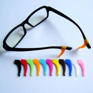 Temple Tips Anti Slip Ear Hook Grip Tip Silicone Glasses Spectacles One Pair