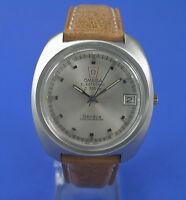 Omega HAU Electronic f300 Hz Chronometer Stimmgabeluhr Stahl watch