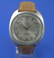 Omega HAU Electronic f300 Hz Chronometer Stimmgabeluhr Stahl watch