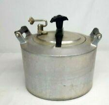 Vintage MINIT MAID Cast Aluminum Pressure MAGIC COOKER Chicken Fryer with Racks