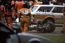 Gilles Villeneuve Ferrari Accident Belgian Grand Prix 1982 Photograph 5