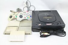 Sega Hitachi Hi-Saturn Hi Saturn console  MMP-1-1 Black Japan junk for parts