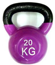 Ironman Colour Vinyl Kettlebell 20kg - PINK  - FREE Postage UK Mainland