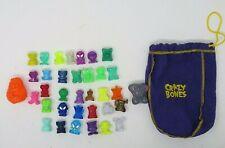 GoGo Crazy Bones Lot Of 35 With Bag A61