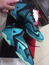 Nike Lebron XI 11 South Beach Size 10, Worn1x lot