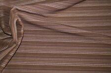 1,40m Stretch Stoff braun gestreift Hosenstoff Kleiderstoff 8,99€/m #0275