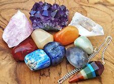 11 Pcs crystal chakra tumbled stones healing kit bohemian meditation set decor