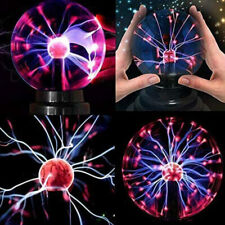 [DHL] Plasmakugel Plasmaball Party Deko Lichteffekt Plasma Lampe Leuchte 3 ZOLL