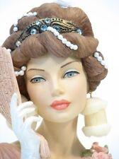 "Cameo Girls Head Vase Blythe 1912 ""Park Avenue Promenade "" MIB FREE SHIPPING"
