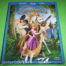 ENREDADOS BLU-RAY + DVD. CLASICO DISNEY NUMERO 52 NUEVO Y PRECINTADO