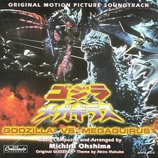 1 CENT CD Godzilla Vs. Megaguirus [SOUNDTRACK] michiru ohshima