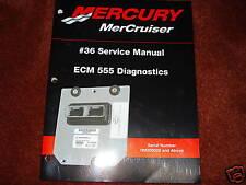 MERCRUISER DEALER SERVICE MANUAL'S--ECM 555 DIAGNOSTICS