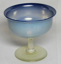 LCT TIFFANY FAVRILE, PASTEL BLUE STEMMED SHERBET, DESSERT CUP~~~