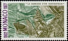 "MONACO N° 1089 ""ALBERT 1er NAVIGATEUR, L'HIRONDELLE CYCLONE, 1 F 25""NEUF xxTTB"