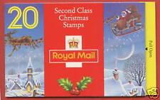LX5 1993 £3.80 Santa Christmas Folded Booklet