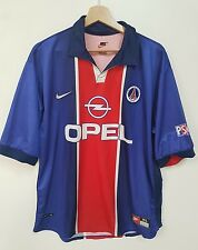 Maglia calcio Paris Saint Germain Nike vintage shirt camiseta soccer PSG rare