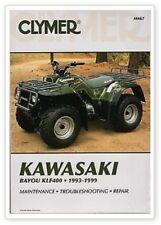 Clymer Repair Service Shop Manual Kawasaki KLF400 Bayou M467 70-0467 27-M467