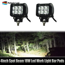 2x 18W LED Work Light spot Lamp Tractor Truck SUV ATV Back Up Offroad 12V 24V