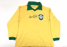 Pele Signed Brazil Jersey PSA/DNA World Cup Full Name Edson Pele