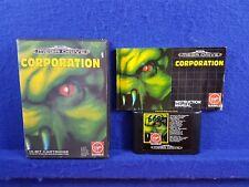 Sega Mega Drive CORPORATION Game Boxed & Complete Action RPG Adventure PAL