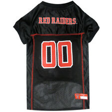 Texas Tech Raiders NCAA Pets First Licensed Dog Mesh Jersey Black Size XS-XL NWT