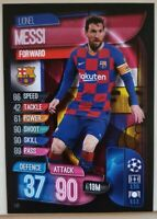 2019/20 Match Attax Soccer Card - Lionel Messi #141 Barcelona