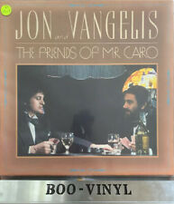 Jon And Vangelis The Friends Of Mr Cario Vinyl LP Superb Con Ex+