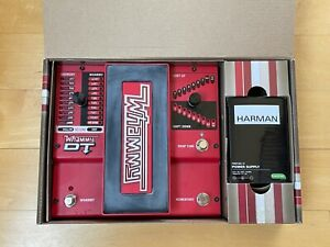 DigiTech Whammy DT Pitch Shifting and Drop Tune Pedal, with new power supply
