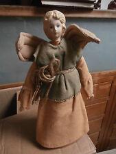 ** Statuina in tessuto artigianale fatta a mano Natale 24 x 13 cm **