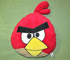 "18"" ANGRY BIRDS PILLOW HEAD PLUSH STUFFED ANIMAL  RED CHARACTER COMMONWEALTH TOY"