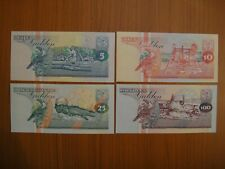 Lot de 4 billets Suriname, Surinam
