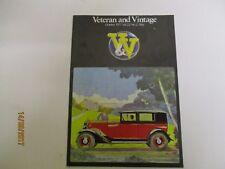 October 1977, VETERAN & VINTAGE, Sears, Henry Morgan, Tony Lucas, Hazel Green.