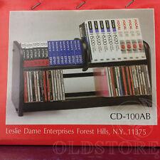 ►LESLIE DAME ENTERPRISES CD 100 AB◄SUPER COMBO PORTA CD, CASSETTE, VIDEOCASSETTE