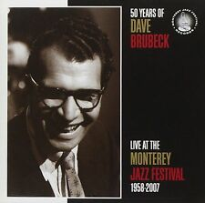 Dave Brubeck - Live At The Monterey Jazz Festival 1958-2007 - 50 Years (CD) NEW
