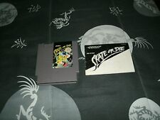 Skate or Die For Nintendo Entertainment System NES With Manual