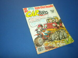 CARTOONS/CAR TOONS magazine 1985 December - Petersen Publishing racing hot rods