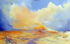 """NEW ORIGINAL ELIZABETH WILLIAMS """"Dance Me To Your Beauty"""" Sea OIL PAINTING"""