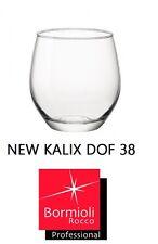 BORMIOLI SET 12 BICCHIERE NEW KALIX CALIX CL 38 ACQUA VETRO BICCHIERI 197769