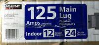 Murray LC1224L1125 Indoor Main Lug Load Center Circuit Breaker Panel Box 125A-Op